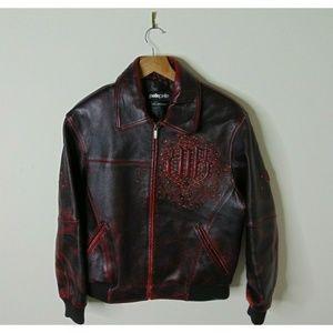 Pelle Pelle Marc Buchanan S Leather Jacket Red